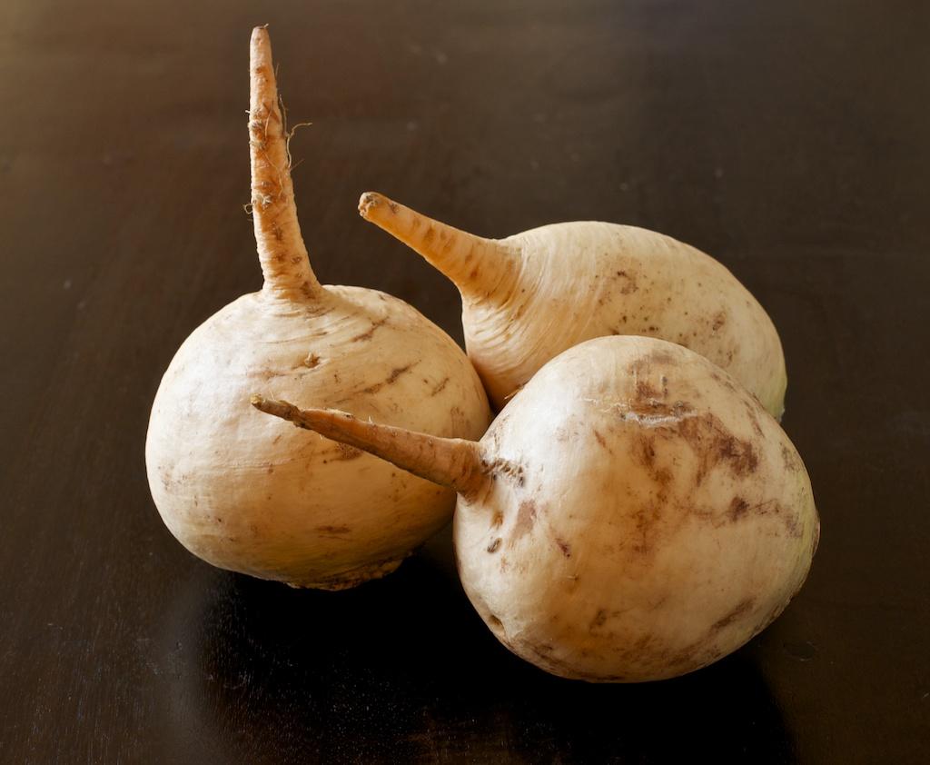 3 turnips